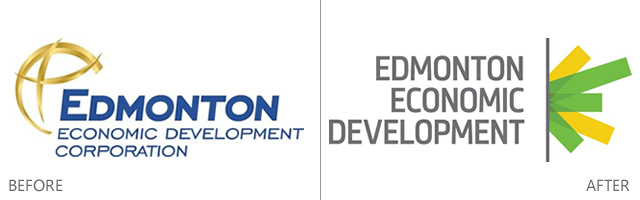 EEDC Logo Before & After