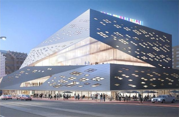 new stanley milner library design